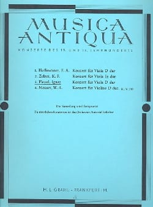 Konzert für Viola D-dur op. 31 Ignaz Pleyel Partition laflutedepan