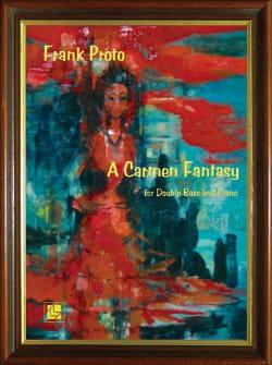 A Carmen fantasy - Double bass piano Franck Proto laflutedepan