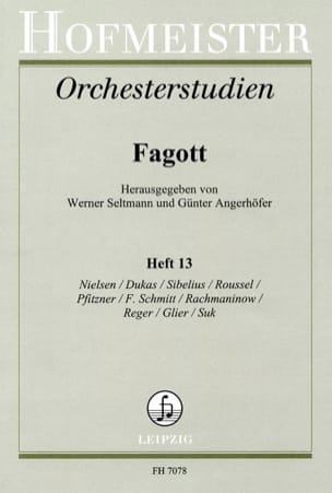Orchesterstudien - Fagott - Heft 13 laflutedepan