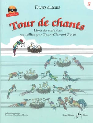 Tour de Chants Volume 5 - Jean-Clément Jollet Partition laflutedepan