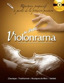 Le Petit Violonrama Partition Violon - laflutedepan