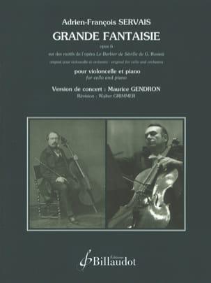 Grande fantaisie Op. 6 Adrien-François Servais Partition laflutedepan