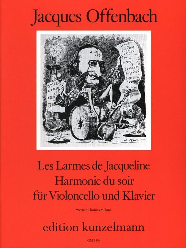 Les Larmes de Jacqueline op. 76 n° 2 / Harmonie du Soir - laflutedepan.com