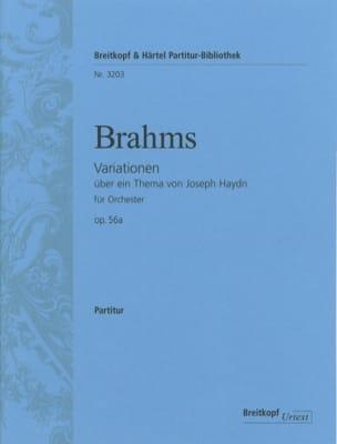 Variationen über ein Thema von J. Haydn op. 56a BRAHMS laflutedepan