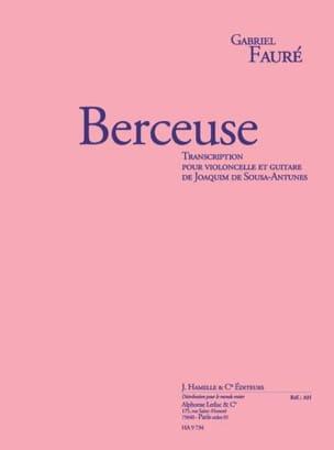 Berceuse Op.16 FAURÉ Partition 0 - laflutedepan