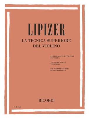 La Tecnica Superiore del Violino Rodolfo Lipizer laflutedepan