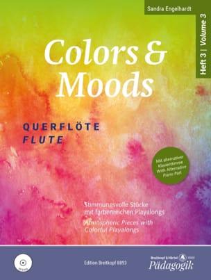 Colors & Moods Flute - Vol. 3 Sandra Engelhardt Partition laflutedepan