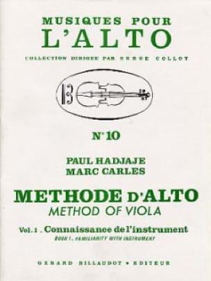 Méthode D'alto Volume 1 - laflutedepan.com