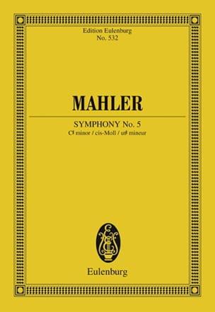 Sinfonie Nr. 5 cis-Moll MAHLER Partition Petit format - laflutedepan