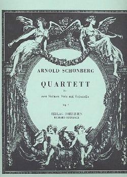 Streichquartett Nr. 1 op. 7 -Stimmen SCHOENBERG laflutedepan