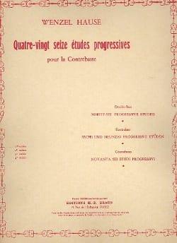 96 Etudes progressives, Volume 1 - Contrebasse laflutedepan