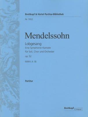Lobgesang op. 52 - Partitur - MENDELSSOHN - laflutedepan.com