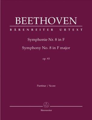 Symphonie Nr. 8 F-Dur op. 93 - conducteur BEETHOVEN laflutedepan