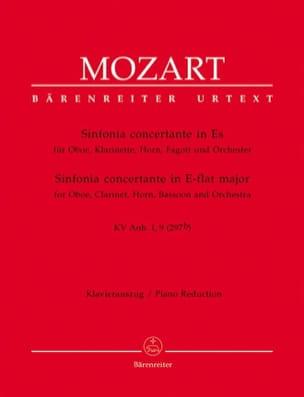 Sinfonia concertante in Es KV Anh. 1, 9 297b -Oboe Kl. Horn Fagott Klavier laflutedepan
