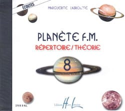 CD - Planète FM Volume 8 - Ecoutes Marguerite Labrousse laflutedepan