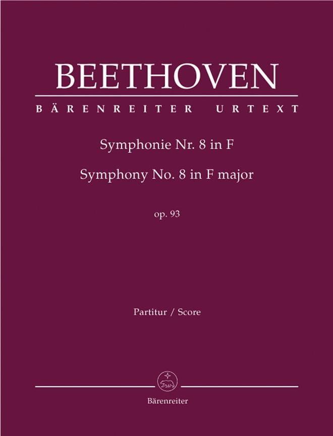 Symphonie Nr. 8 F-Dur op. 93 - conducteur - laflutedepan.com