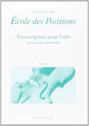 Ecole des positions - 2ème position - Alto VAN DE VELDE laflutedepan