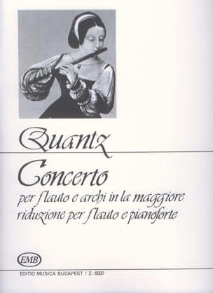 Concerto in la maggiore - Flauto pianoforte - laflutedepan.com