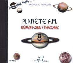 CD - Planète FM Volume 8 - Accompagnements et Dictées laflutedepan