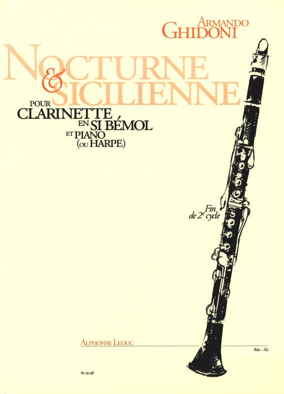 Nocturne et Sicilienne - Armando Ghidoni - laflutedepan.com
