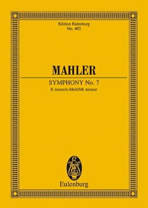 Sinfonie Nr. 7 e-Moll MAHLER Partition Petit format - laflutedepan