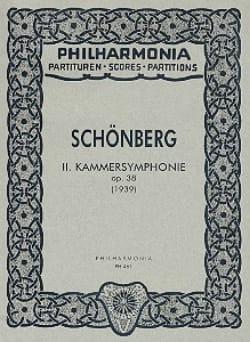 Kammersymphonie Nr. 2 op. 38 - Partitur SCHOENBERG laflutedepan