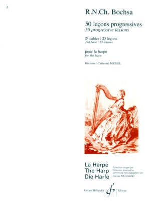 50 Lecons progressives - Volume 2 Charles Bochsa laflutedepan