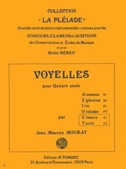 Voyelles U et Y : Ulmaire - Yuca Jean-Maurice Mourat laflutedepan