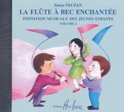 CD - Flûte A Bec Enchantée Volume 2 Sonya Veczan laflutedepan
