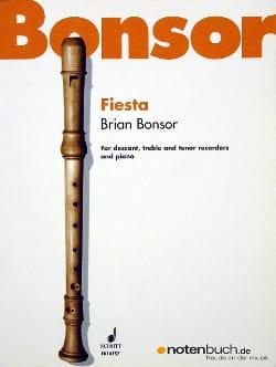 Fiesta -descant, treble, tenor recorders piano laflutedepan