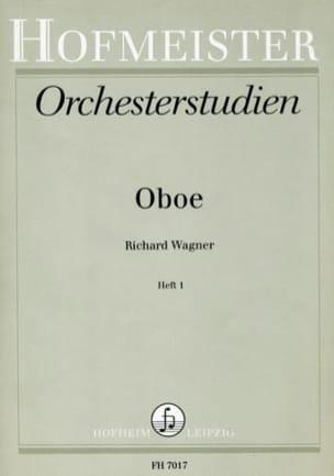 Orchesterstudien - Heft 1 - Oboe WAGNER Partition laflutedepan