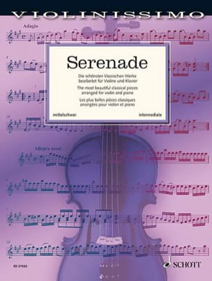 Serenade - Violon et piano Partition Violon - laflutedepan