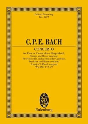 Konzert A-Dur La Majeur - Conducteur laflutedepan