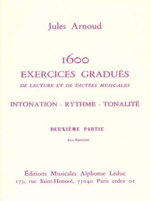 1600 Exercices gradués - Volume 2 Jules Arnoud Partition laflutedepan