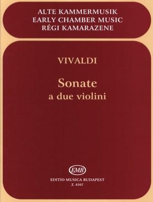 Sonate a due violini VIVALDI Partition Violon - laflutedepan
