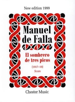 El sombrero de tres picos 1917-19 - Score DE FALLA laflutedepan