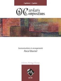 Turlough O' Carolan - Pascal Bournet - Partition - laflutedepan.com