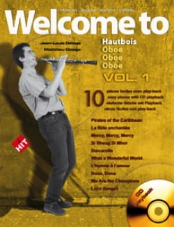 Welcome to Hautbois - Volume 1 - Partition - laflutedepan.com