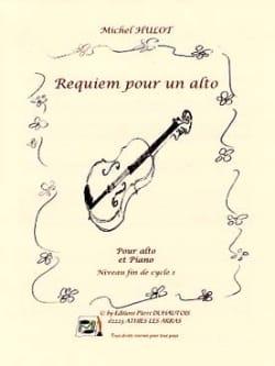 Requiem Pour un Alto - Michel Hulot - Partition - laflutedepan.com