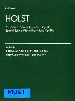 2 Suites, op. 28a et 28b HOLST Partition Grand format - laflutedepan