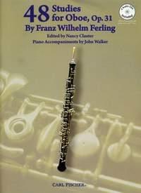 48 Studies for Oboe Franz Wilhelm Ferling Partition laflutedepan