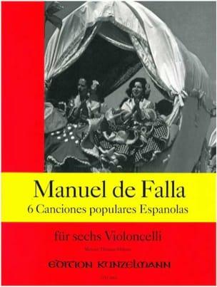 6 Canciones populares espanolas DE FALLA Partition laflutedepan