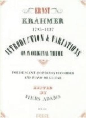 Introduction et Variations On An Original Theme, Opus 32 - laflutedepan.com