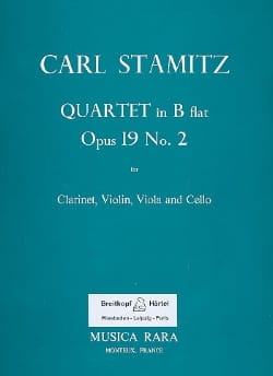 Quartet B flat maj. op. 19 n° 2 -Clarinet violin viola cello laflutedepan