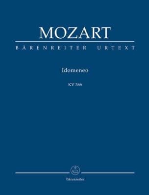 Idomeneo Kv 366 MOZART Partition Petit format - laflutedepan