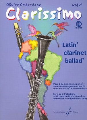 Clarissimo Vol. 1 - Clarinette Olivier Ombredane laflutedepan