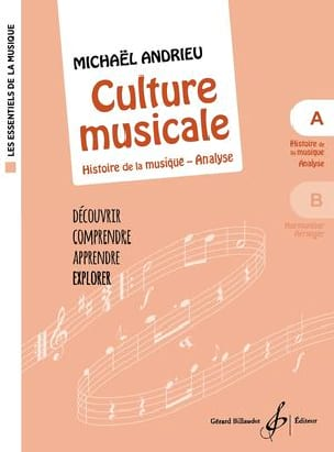 Michael Andrieu - Culture Musicale - Cahier A - Partition - di-arezzo.ch
