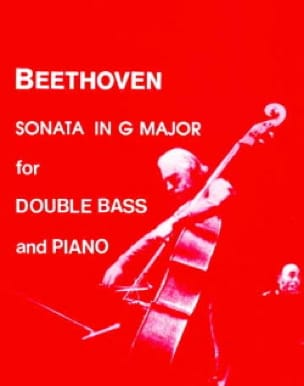 Sonata in G major - Double bass - BEETHOVEN - laflutedepan.com