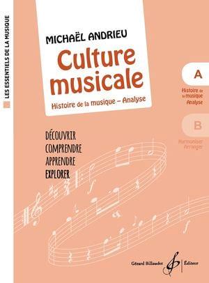 Culture Musicale - Cahier A - Michael Andrieu - laflutedepan.com