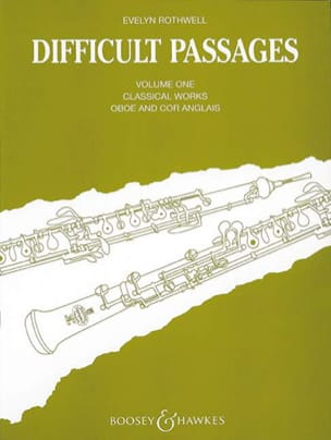 Difficult passages - Volume 1 - Oboe / Cor anglais laflutedepan